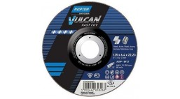 Диск зачистной 230*6.4*22.2мм BF27-A30P Norton Vulcan FAST CUT (Steel, Inox)