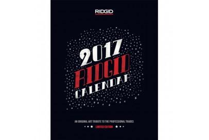 Календарь 2017 RIDGID настенный перекидной