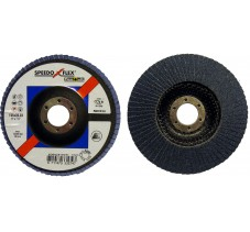 Диск лепестковый 125*22.2мм  60Z R822 Flexovit SpeedoFlex (Inox)