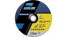 Диск зачистной 125*7.0*22.2мм BF27-A30Q NORTON NORLINE (Alu)