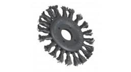Щетка дисковая 125*13*22,2мм жгутовая стальная проволока 0,5мм T28 NOSKW Flexovit