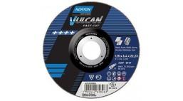 Диск зачистной 180*6.4*22.2мм BF27-A30P Norton Vulcan FAST CUT (Steel, Inox)