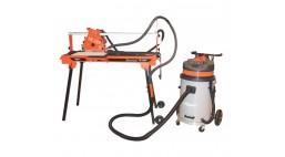 Плиткорез электрический рельсовый TR250H-DF +BLADE +CV401 для СУХОЙ резки Norton