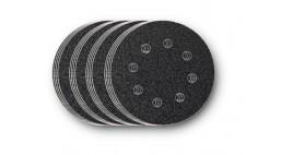 Набор дисков из абразивной шкурки 115 мм по 4 листа P60, P80, P120, P180 с перфорацией, Fein