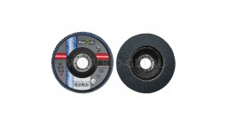 Диск лепестковый 125*22.2мм  80Z R822 Flexovit Industrial (Inox, Alu)
