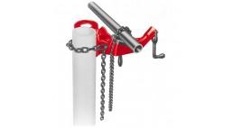Тиски цепные м.640 с цепным фиксатором для труб 1/8&quot;-5&quot; <40170> RIDGID