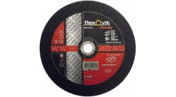 Диск отрезной 230*2.5*22.2мм BF41-ZAC24S Flexovit Foundry (Steel, Cast Iron)