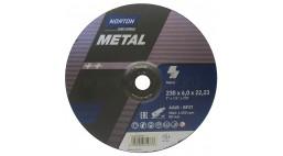 Диск зачистной 230*6.0*22.2мм BF27-A24R Norton Metal (Steel) 20шт/упак