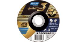 Диск зачистной 180*7.0*22.2мм BF27-NQ24P Norton QUANTUM 3 (Steel / Metal, Inox)