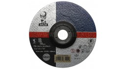 Диск зачистной 150*6.0*22.2мм BF27-A24R Atlas (Steel, Inox)