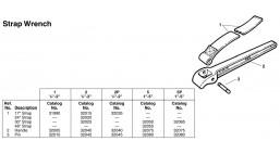 Ремень для ремешк. ключа м.1 <31990> RIDGID 12*425мм
