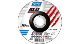 Диск зачистной 125*7.0*22.2мм BF27-A36Q NORTON ALU (Alu)