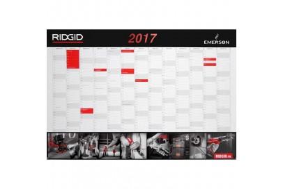 Календарь 2017 RIDGID настольный настенный с ежедневником