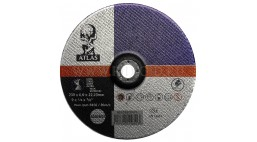 Диск зачистной 230*6.0*22.2мм BF27-A24R Atlas (Steel, Inox)