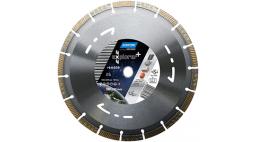 Диск алмазный  230*22.2 мм универсальный NORTON 4X4 Explorer+
