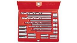 Набор экстракторов  №10 RIDGID для винтов и шпилек 6 - 13мм со свёрлами и направляющими
