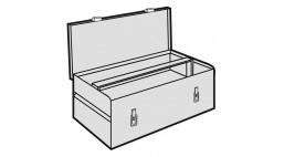 Ящик метал. для инструмента м.743 <28421> RIDGID