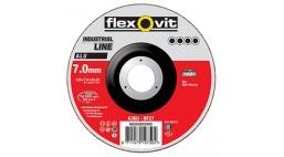 Диск зачистной 115*7.0*22.2мм BF27-A36Q Flexovit ALU (Alu)