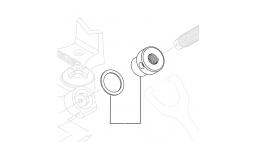 Гайка рукоятки с шайбой для тисков ВС-210/210P/210A  <41010> RIDGID