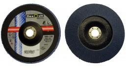 Диск лепестковый 180*22.2мм  80Z R822 Flexovit Industrial (Inox, Alu)