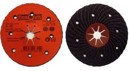 Диск Fiberflex полугибкий конический 180*5*22.2 мм  А36 8DH Flexovit